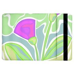 Purple Flowers Ipad Air Flip by Valentinaart