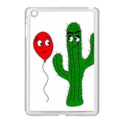 Impossible Love  Apple Ipad Mini Case (white) by Valentinaart