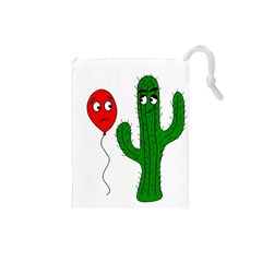 Impossible Love  Drawstring Pouches (small)  by Valentinaart