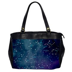 Constellations Oversize Office Handbag (two Sides) by DanaeStudio