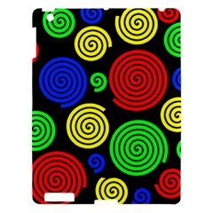 Colorful Hypnoses Apple Ipad 3/4 Hardshell Case by Valentinaart