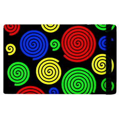 Colorful Hypnoses Apple Ipad 3/4 Flip Case by Valentinaart