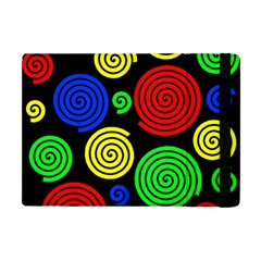 Colorful Hypnoses Apple Ipad Mini Flip Case by Valentinaart