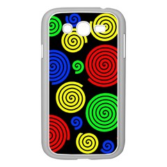 Colorful Hypnoses Samsung Galaxy Grand Duos I9082 Case (white) by Valentinaart