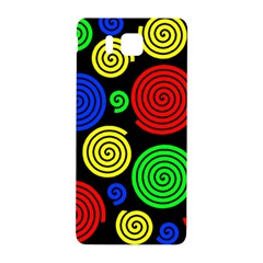 Colorful Hypnoses Samsung Galaxy Alpha Hardshell Back Case by Valentinaart