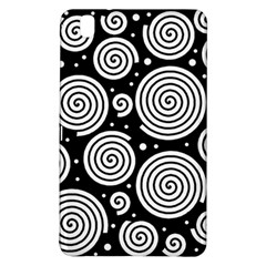 Black And White Hypnoses Samsung Galaxy Tab Pro 8 4 Hardshell Case by Valentinaart
