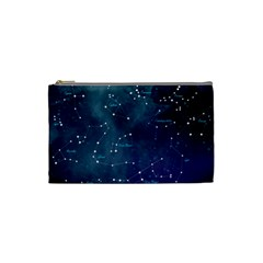 Constellations Cosmetic Bag (small) by DanaeStudio