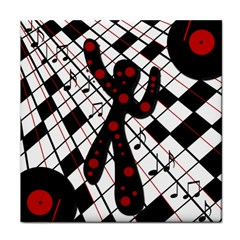 On The Dance Floor  Tile Coasters by Valentinaart