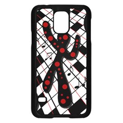 On The Dance Floor  Samsung Galaxy S5 Case (black) by Valentinaart