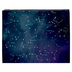 Constellations Cosmetic Bag (xxxl) by DanaeStudio