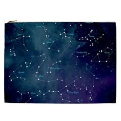 Constellations Cosmetic Bag (xxl) by DanaeStudio