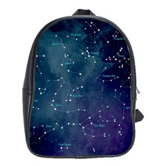 Constellations School Bag (xl) by DanaeStudio