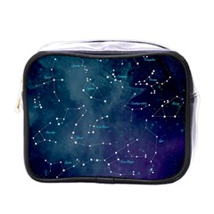 Constellations Mini Travel Toiletry Bag (one Side) by DanaeStudio