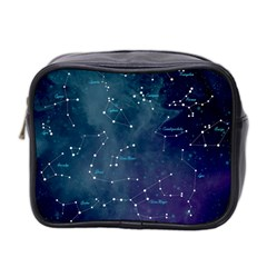 Constellations Mini Travel Toiletry Bag (two Sides) by DanaeStudio
