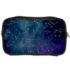 Constellations Travel Toiletry Bag (two Sides) by DanaeStudio