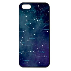Constellations Apple Iphone 5 Seamless Case (black) by DanaeStudio
