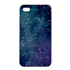 Constellations Apple Iphone 4/4s Seamless Case (black) by DanaeStudio