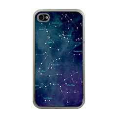 Constellations Apple Iphone 4 Case (clear) by DanaeStudio