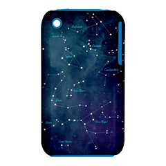 Constellations Apple Iphone 3g/3gs Hardshell Case (pc+silicone) by DanaeStudio