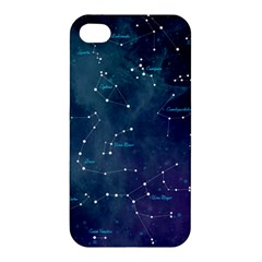 Constellations Apple Iphone 4/4s Premium Hardshell Case by DanaeStudio