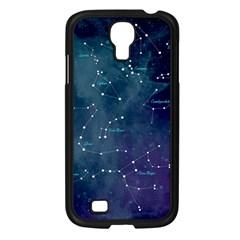 Constellations Samsung Galaxy S4 I9500/ I9505 Case (black) by DanaeStudio