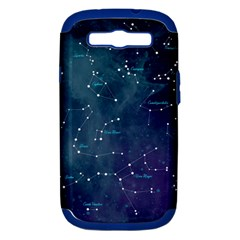Constellations Samsung Galaxy S Iii Hardshell Case (pc+silicone) by DanaeStudio