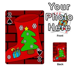 Christmas Sock Playing Cards 54 Designs