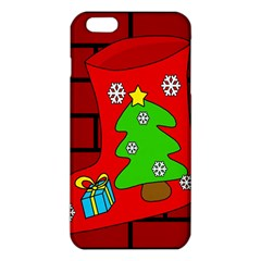 Christmas Sock Iphone 6 Plus/6s Plus Tpu Case by Valentinaart