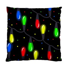 Christmas Light Standard Cushion Case (two Sides) by Valentinaart