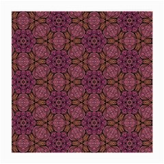 Fuchsia Abstract Shell Pattern Medium Glasses Cloth (2 Side) by TanyaDraws