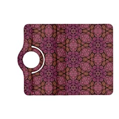 Fuchsia Abstract Shell Pattern Kindle Fire Hd (2013) Flip 360 Case by TanyaDraws