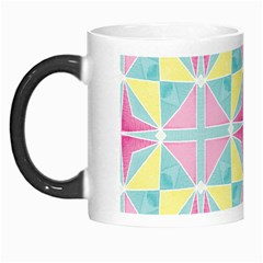 Pastel Block Tiles Pattern Morph Mugs by TanyaDraws