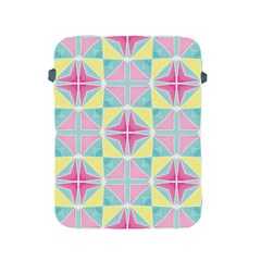 Pastel Block Tiles Pattern Apple Ipad 2/3/4 Protective Soft Cases by TanyaDraws