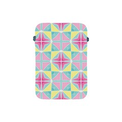 Pastel Block Tiles Pattern Apple Ipad Mini Protective Soft Cases by TanyaDraws