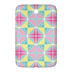 Pastel Block Tiles Pattern Samsung Galaxy Note 8 0 N5100 Hardshell Case  by TanyaDraws