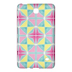 Pastel Block Tiles Pattern Samsung Galaxy Tab 4 (7 ) Hardshell Case  by TanyaDraws