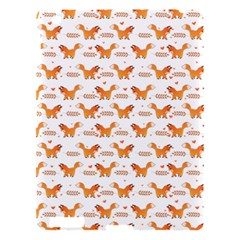 Fox And Laurel Pattern Apple Ipad 3/4 Hardshell Case by TanyaDraws