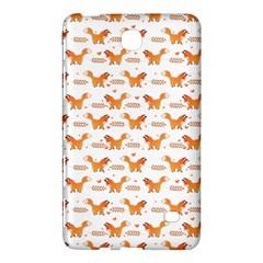 Fox And Laurel Pattern Samsung Galaxy Tab 4 (7 ) Hardshell Case  by TanyaDraws