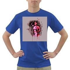 Whisper Dark T Shirt by lvbart