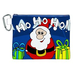Santa Claus  Canvas Cosmetic Bag (xxl) by Valentinaart