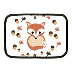 Fox In Autumn Netbook Case (medium)  by vanessagf
