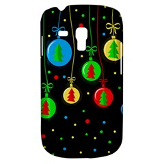 Christmas Balls Samsung Galaxy S3 Mini I8190 Hardshell Case by Valentinaart