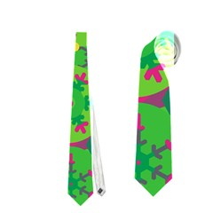 Christmas Decor   Green Neckties (two Side)
