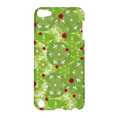 Green Christmas Decor Apple Ipod Touch 5 Hardshell Case by Valentinaart