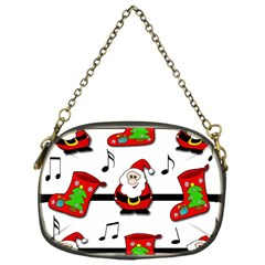 Christmas Song Chain Purses (one Side)  by Valentinaart