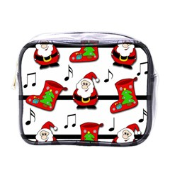 Christmas Song Mini Toiletries Bags by Valentinaart