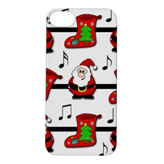 Christmas Song Apple Iphone 5s/ Se Hardshell Case by Valentinaart