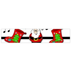 Christmas Song Flano Scarf (small) by Valentinaart
