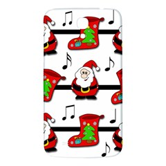 Christmas Song Samsung Galaxy Mega I9200 Hardshell Back Case by Valentinaart