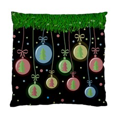 Christmas Balls   Pastel Standard Cushion Case (one Side) by Valentinaart